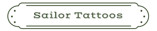 Sailor Tattoos Name Plate