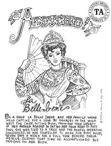 Illustration of La Belle Irene is by Chelea Smith.