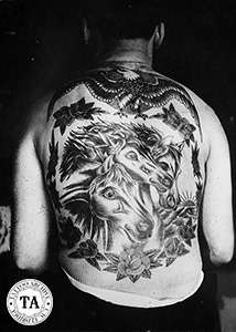 Pharaoh's Horses Back Piece
