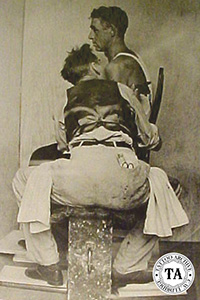 Reference Picture for Norman Rockwell's The Tattooist