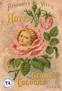 Hoyt's German Cologne trade card, (1900s)