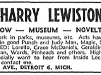 Harry Lewiston